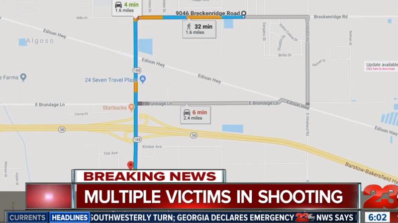 Etats-Unis: un homme armé tue cinq personnes à Bakersfield, en Californie, puis se suicide