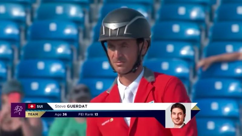 Hippisme: Steve Guerdat et l'équipe suisse en tête du classement aux Jeux équestres mondiaux