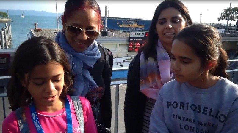 Patricia, Fatima et Zoé à la Fête des vendanges: «La chanson du carrousel!»