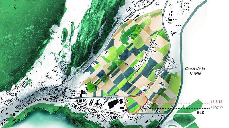 Le pôle de développement cantonal de La Tène sur le gril au Conseil général