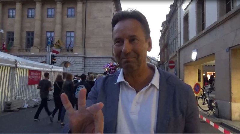 Alain Ribaux à la Fête des vendanges: «la musique de la fête c'est Les lacs du Connemara»