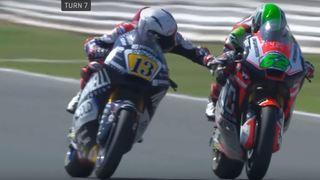 Moto: Romano Fenati licencié de son écurie pour avoir appuyé sur le frein d'un concurrent à 200 km/h
