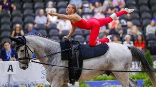 Hippisme: les Suisses décrochent l'argent aux Jeux équestres mondiaux pour la voltige