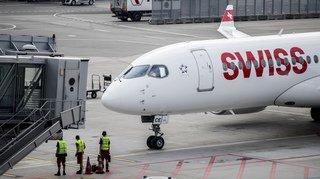 Un avion Swiss part de Zurich puis rebrousse chemin en raison d'un dérangement technique