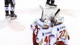 Hockey - Coupe de Suisse: Fribourg élimine Sierre et Star-Forward prend l'eau face à Bienne