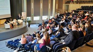 L'Académie du journalisme et des médias de l'Université de Neuchâtel a fêté ses dix ans