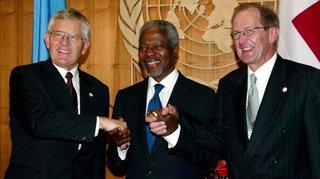 En 2002, la Suisse entre à l'ONU