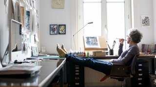Noyau, l'artiste qui dessine le cinéma pour les enfants