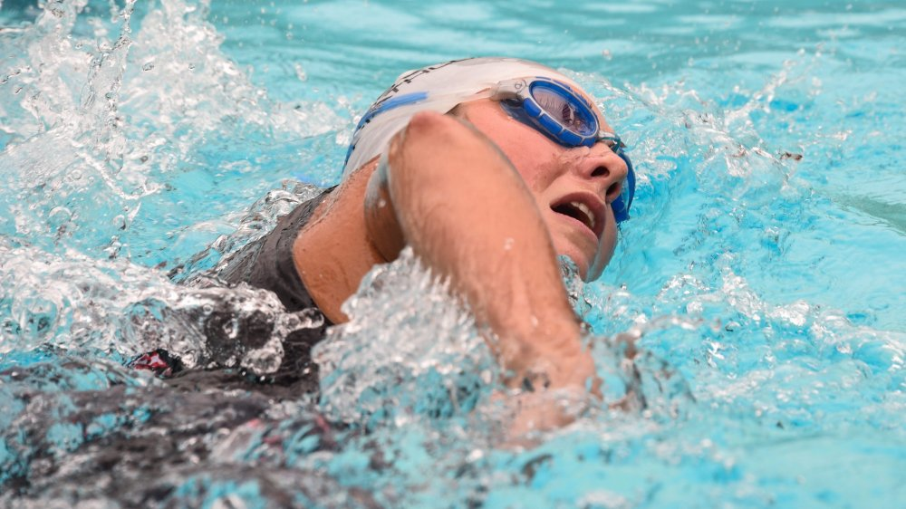 Joanna Ryter a réalisé de gros progrès en natation et elle peut encore progresser dans cette discipline.