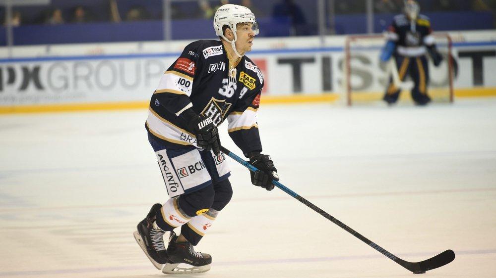 David Stämpfli a signé une très belle ouverture du score pour le HCC à Olten.