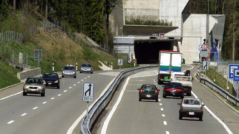 Fermeture totale du tunnel de La Vue-des-Alpes jusqu'au 7 août