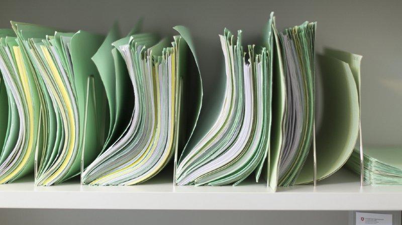 L'Administration fédérale des contributions (AFC) a transmis fin septembre des données sur environ 2 millions de comptes financiers. (illustration)