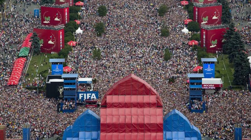 Football - Coupe du monde 2018: plus de 12 milliards d'euros de gains pour l'économie russe