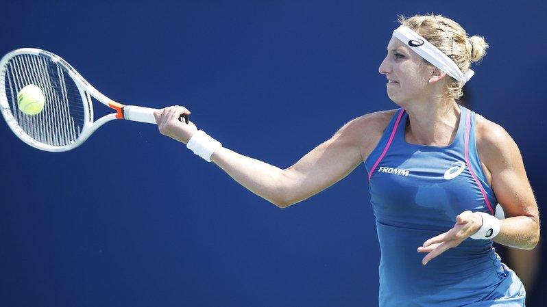 Tennis - Tianjin: exploit de Bacsinszky qui sort la 11e joueuse mondiale et se qualifie pour les demi-finales