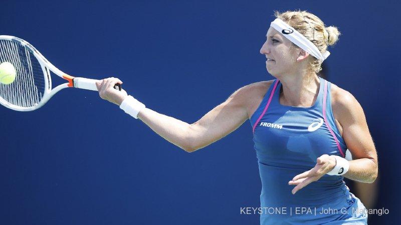 Tennis: le parcours de Timea Bacsinszky à Tianjin s'arrête brutalement en demi-finale