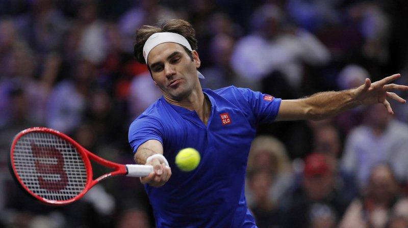 Plus apparu en compétition officielle depuis son élimination surprise à  l US Open, Roger aff13dd23fac