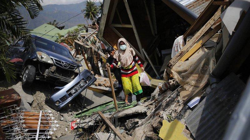 Indonésie: le bilan du séisme suivi d'un tsunami grimpe à 1234 morts