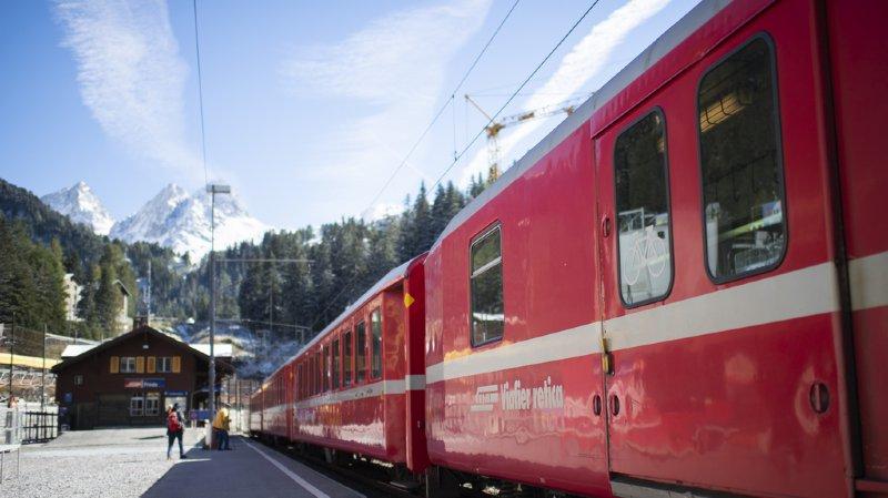 Trafic ferroviaire: la Suisse est championne d'Europe des déplacements en train