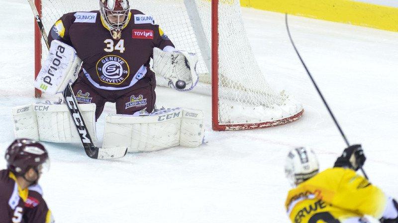 Hockey - National League: face à Berne, Genève-Servette passe l'épaule en fin de match