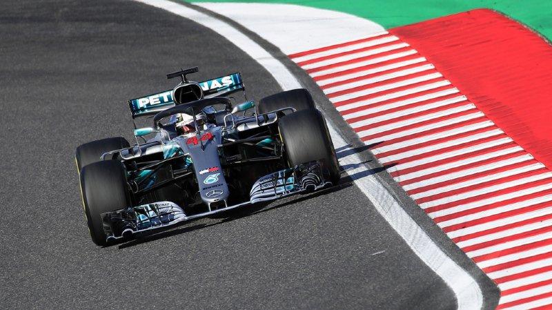 Le Britannique a à nouveau mené sa Mercedes à la victoire.