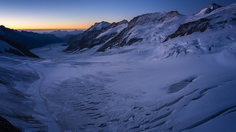 Les glaciers ont enregistré des pertes massives au cours de l'été caniculaire 2018.