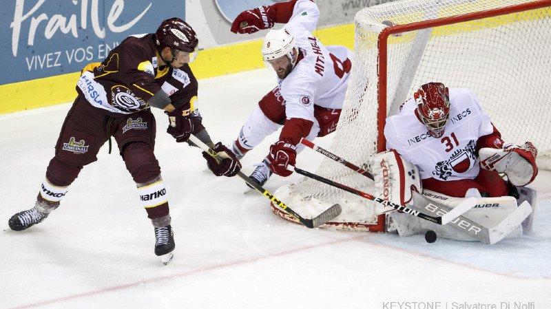 Hockey - National League: Genève-Servette remporte le derby lémanique face à Lausanne aux tirs au but