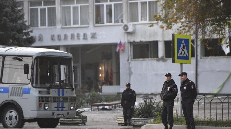 Crimée: le bilan du massacre dans un lycée professionnel de Kerch passe à 20 morts, dont 9 mineurs