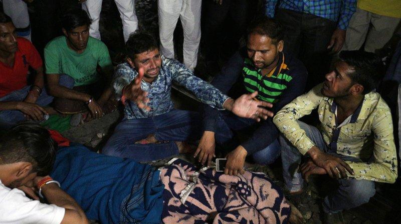 Inde: au moins 60 morts dans un accident de train dans l'État du Pendjab