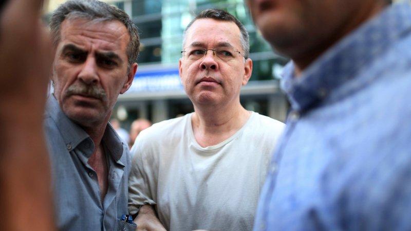 Le pasteur américain Andrew Brunson libéré