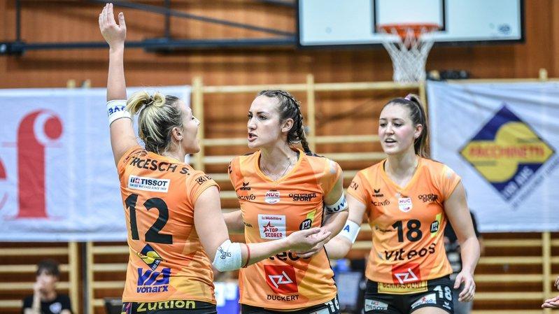 Volleyball: fin de l'aventure européenne du NUC à Schaffhouse