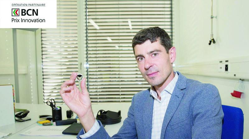 Geoffroy Lapeyre , fils du concepteur de la valve cardiaque LTV, dirige la société Novostia.