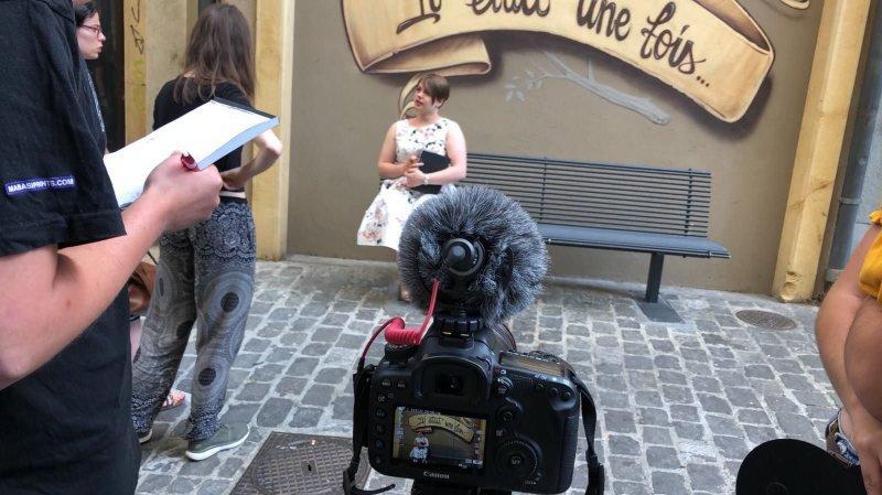 Les Courgemétrages font leur cinéma au Neubourg
