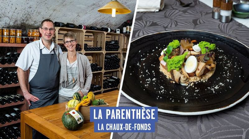 """Au Gault&Millau 2019: le plat d'automne """"venu des sous-bois"""" de La Parenthèse"""