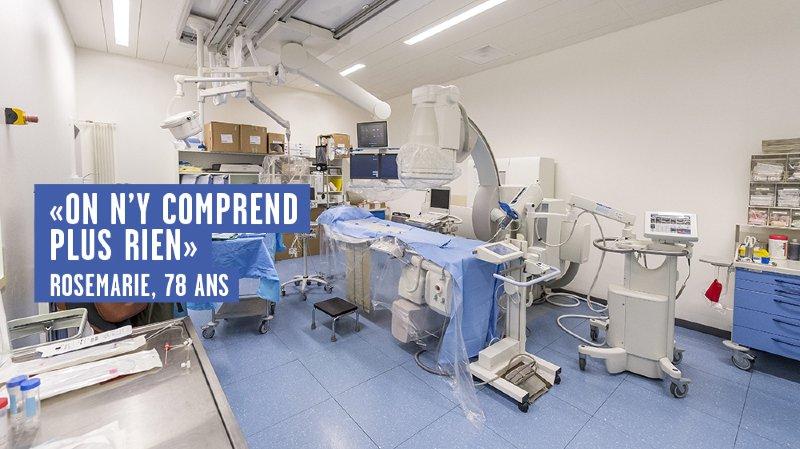 L'hôpital Pourtales, à Neuchatel. Infographie: François Allanou