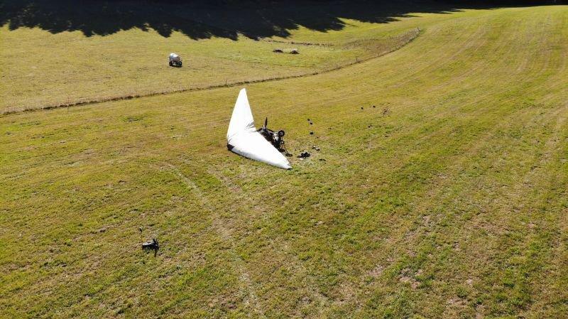 Un père et sa fille blessés dans un accident d'ULM dans les Franches-Montagnes