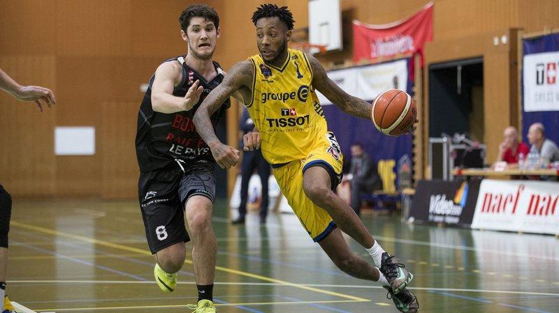 Isaiah Williams (en jaune) et Union se sont montrés solides à Birsfelden.