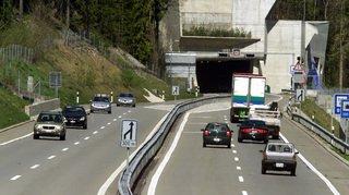 En 1986, le tunnel sous La Vue-des-Alpes plébiscité
