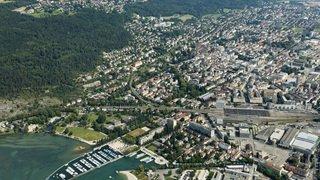 Bienne a atteint le cap des 56'000 habitants