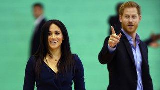 Grande-Bretagne: le prince Harry et son épouse Meghan attendent un bébé pour le printemps