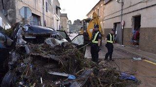 Des inondations à Majorque font plusieurs morts