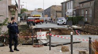France: le bilan des orages et des inondations dans l'Aude s'établit à 13 morts