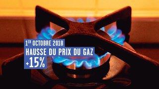 Prix du gaz au plus haut depuis 2014 dans le canton de Neuchâtel