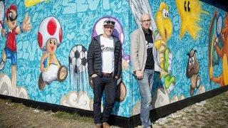 De la pop culture énergisante s'affiche sur les murs du Val-de-Travers