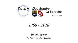 Regroupant une majorité de messieurs sexagénaires, le Rotary-Club Boudry-La Béroche a 50 ans