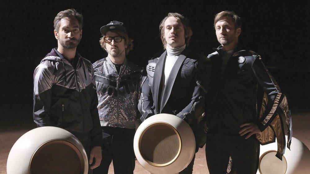 """Les quatre Rambling Wheels viennent de sortir leur nouvel album, """"Radio Reverse""""."""