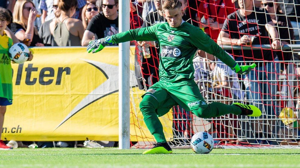 Matthias Minder effectuera ses grands débuts en match officiel à Lugano.