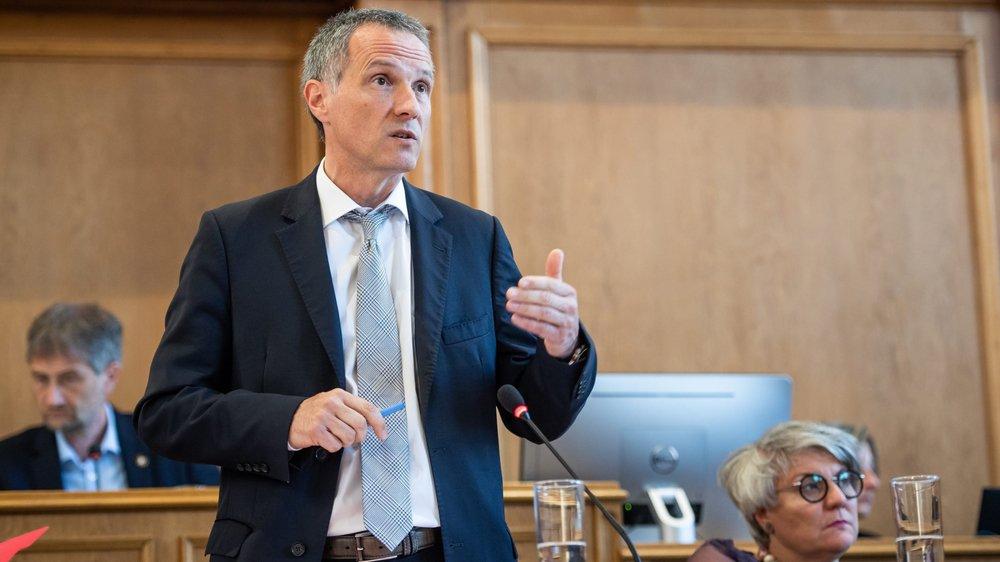 «Avec la réforme, les grands groupes payeront plus», assure Laurent Kurth.