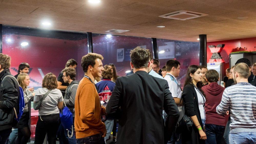 La Conférence des parlements des jeunes a eu lieu ce week-end à Neuchâtel. L'événement a débuté à l'Espace Gilbert Facchinetti.