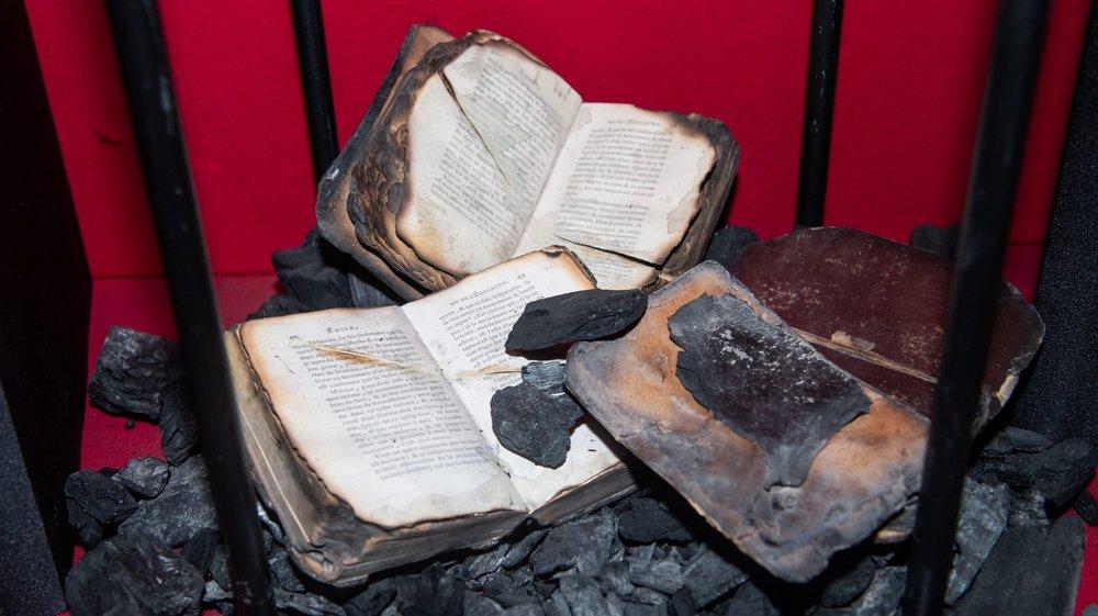 Au temps où l'on brûlait les livres...