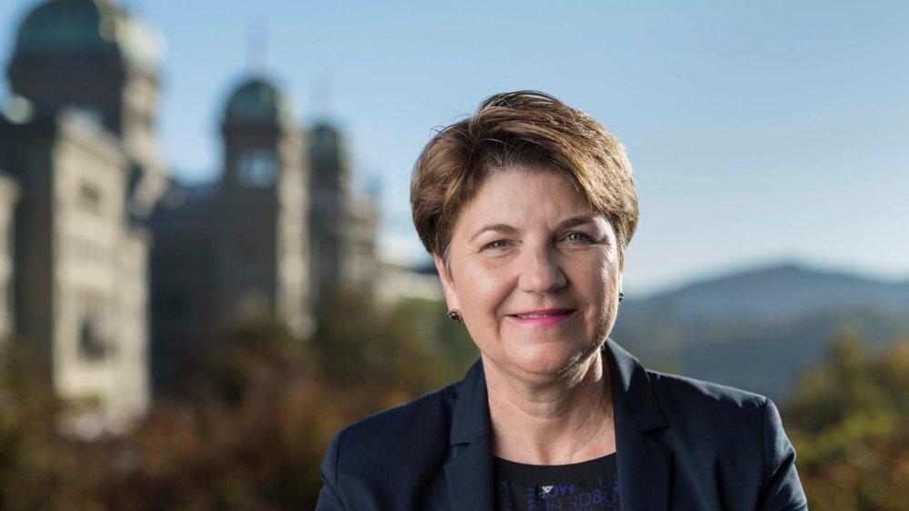La conseillère nationale valaisanne Viola Amherd sera candidate à la succession de Doris Leuthard au Conseil fédéral.